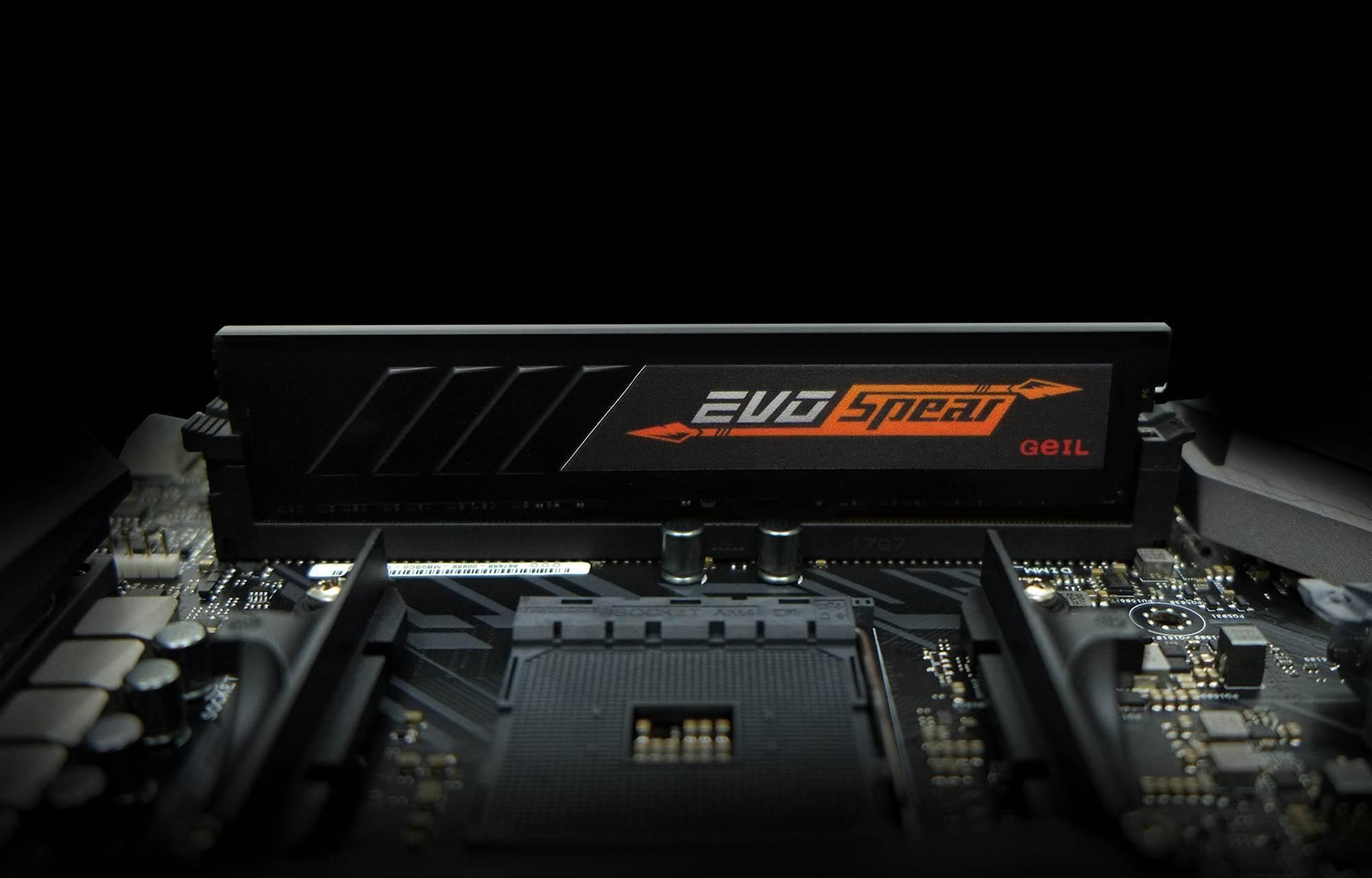 Geil announces EVO Spear DDR4 RAM