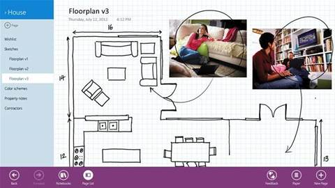 Handy app: download the new Microsoft OneNote MX for Windows 8