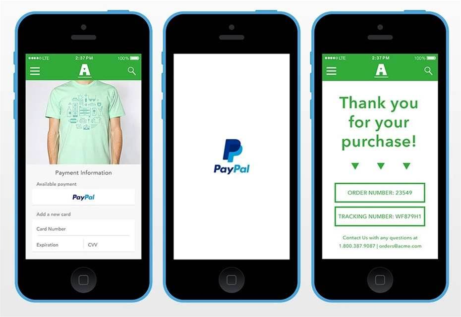 PayPal One Touch helps your customers keep shopping