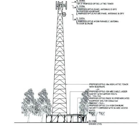 Optus 3G tower raises airport concerns
