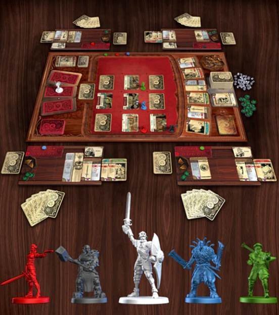 Kickstarter for Hand of Fate boardgame launches today