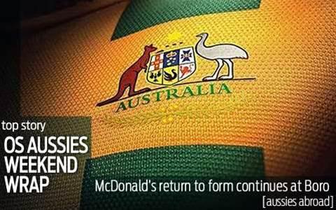 OS Aussies Weekend Wrap
