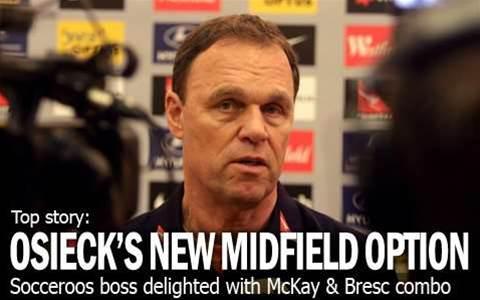 New Midfield Duo Pleases Osieck