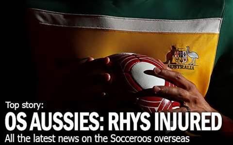 Aussies Abroad: Williams Injured