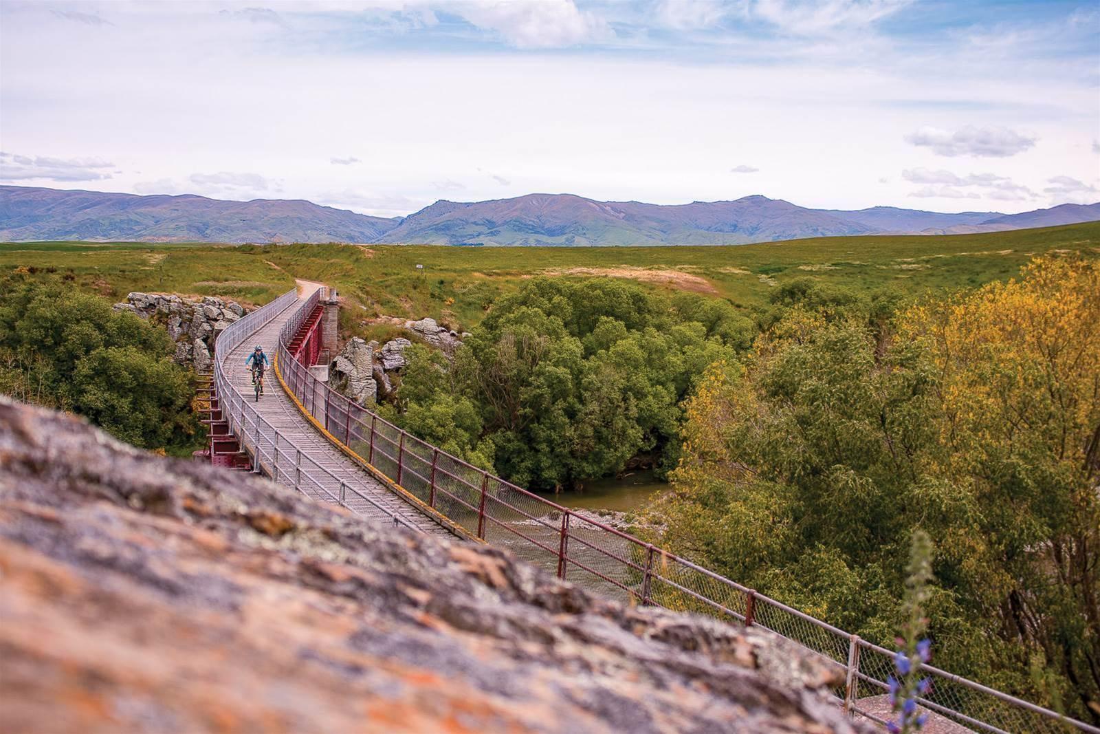 A trail for all: riding the Otago rail trail