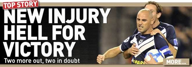 New Injury Woes For Victory