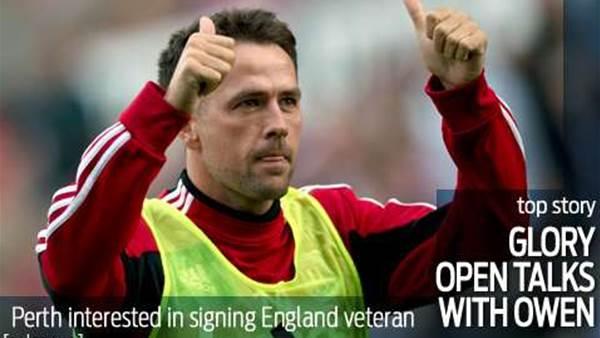 Glory open talks with Michael Owen