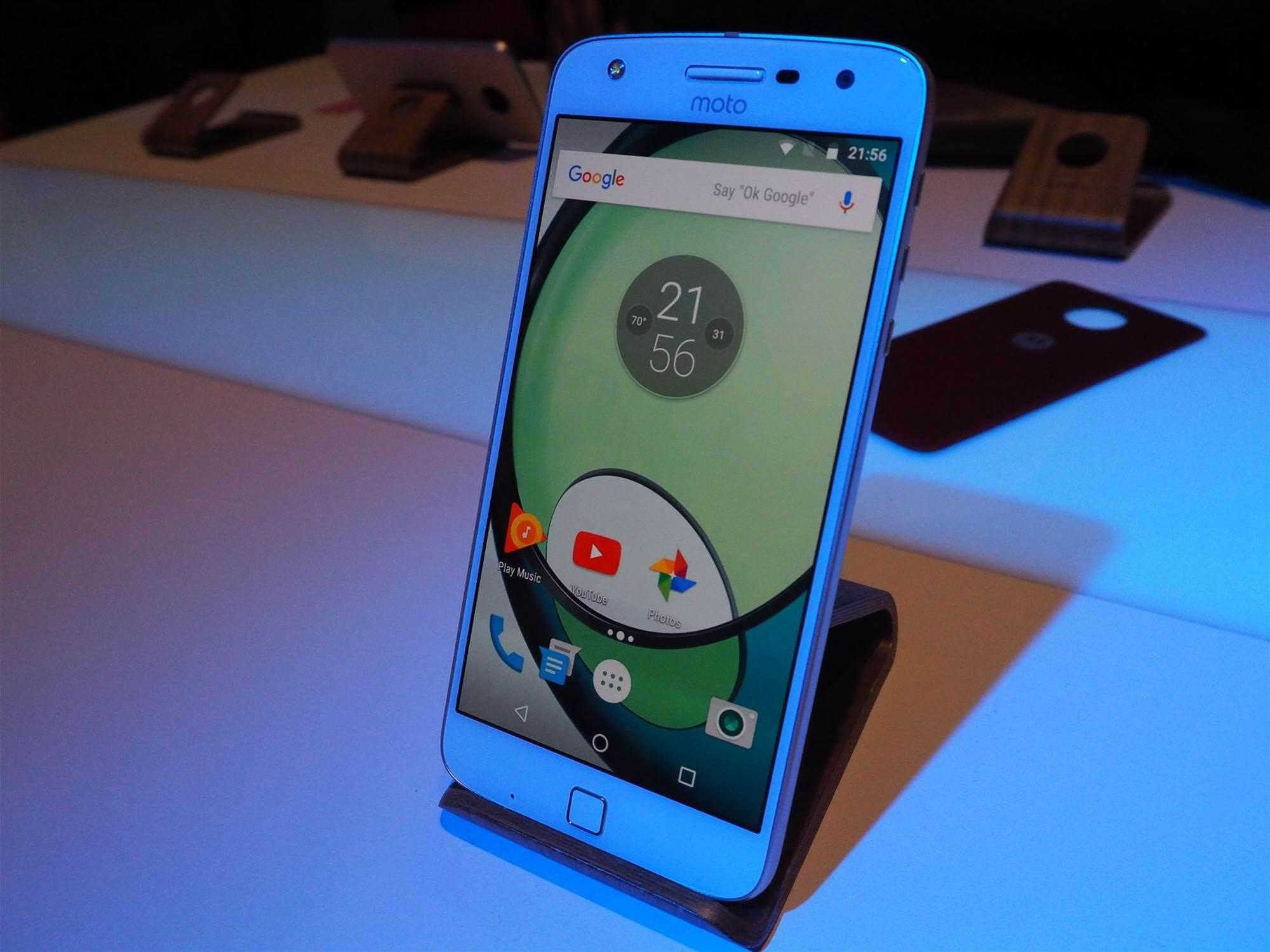 Moto Z Play: Motorola promises two-day battery life