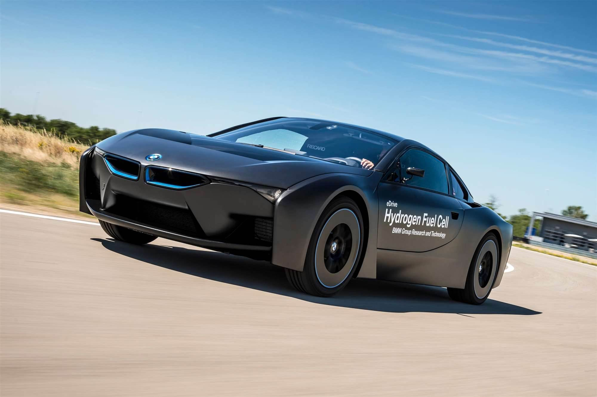 BMW unveils vision of hydrogen future and it's pure Mad Max