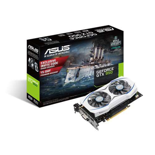 Asus removes the six-pin connector from new GeForce GTX 950-2G