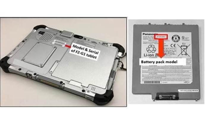 Panasonic recalls tablet batteries over fire hazard