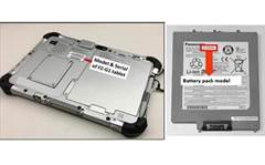 Panasonic recalls tablet batteries over fire hazard