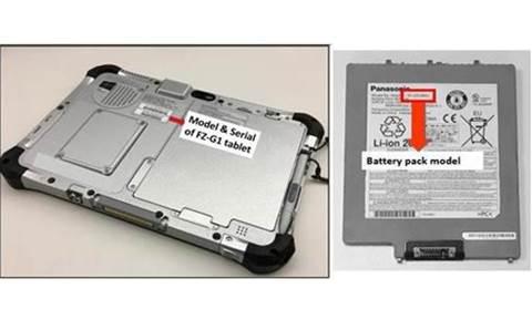 Fire hazard prompts Panasonic Toughpad recall