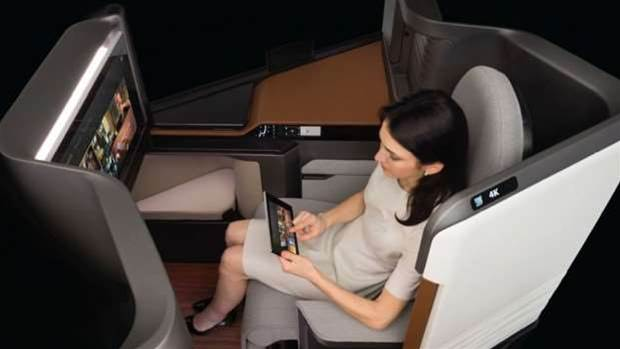 Panasonic's Waterfront seat is here to revolutionise business-class air travel