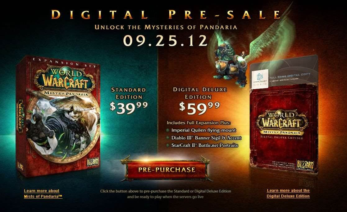 Next World of Warcraft expansion coming September 25th