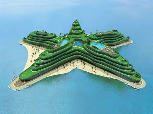 Building Artificial Islands That Rise With the Sea
