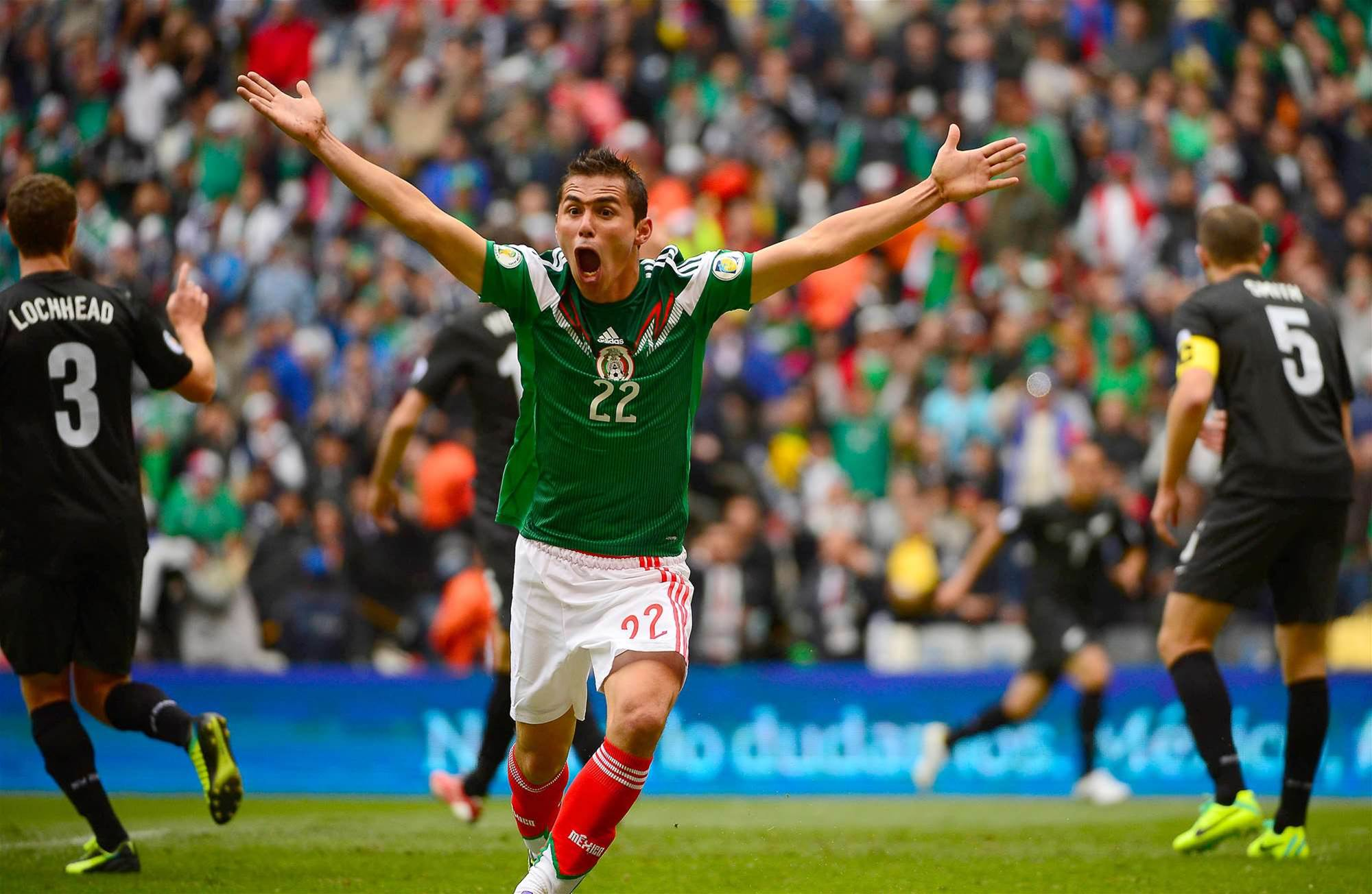 WC playoff: Mexico defeat New Zealand 5-1