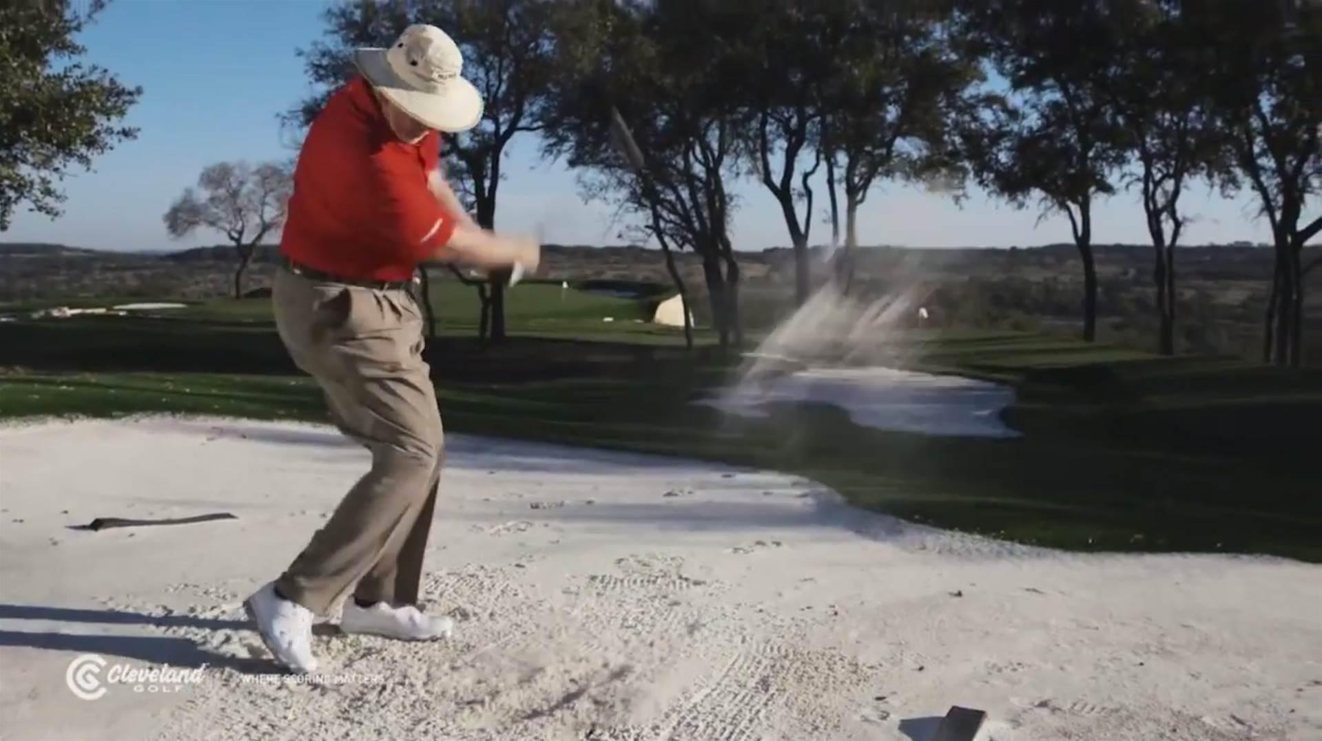 VIDEO TIP: Dave Pelz's lowdown on wedge bounce