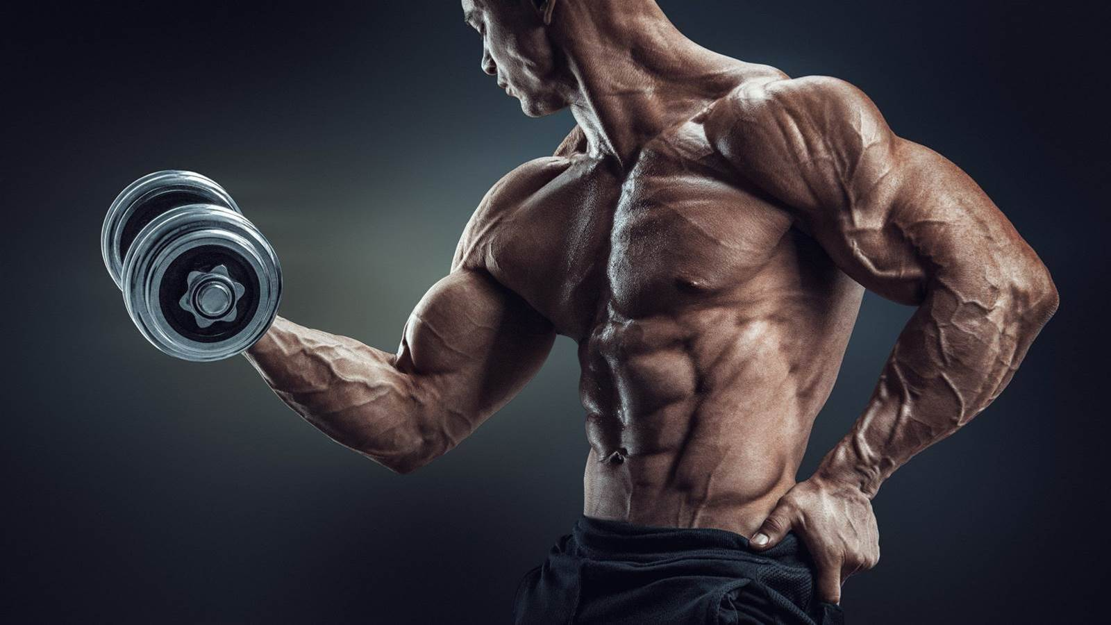 Are big veins a sign of fitness?