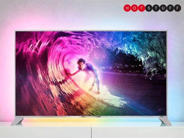 Philips' 55in 4K TV is powered by Android