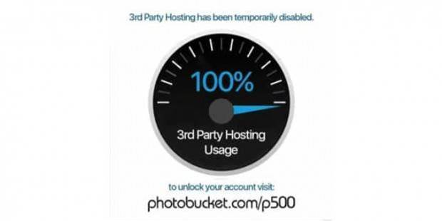 Internet Drama: Photobucket's 'ransom demand' leaves internet shops broken