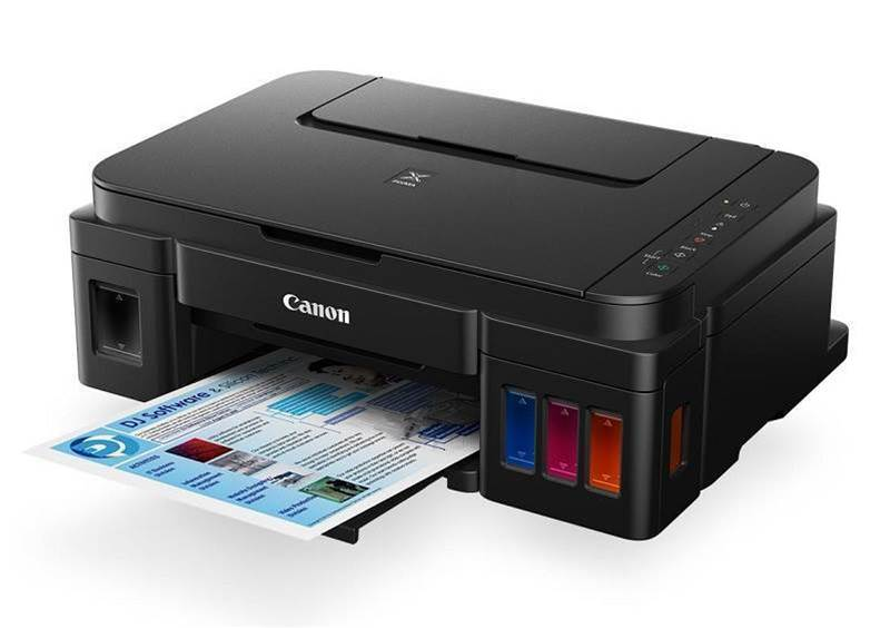 Canon's new Pixma printer uses cheaper bottled ink