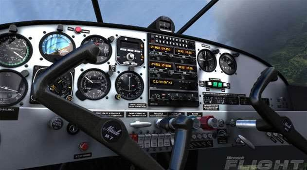 Microsoft Flight uses more than 1,000 photos to build virtual planes
