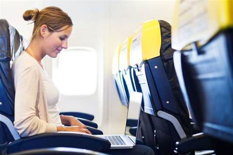Plane travel: work time or rest time?