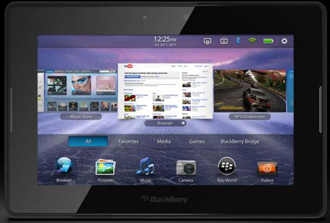 Hackers jailbreak RIM's PlayBook tablet