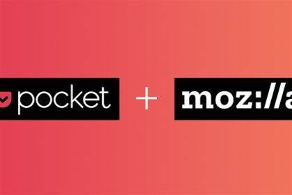 Mozilla picks Pocket for web recommendations