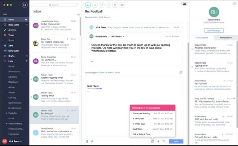 Polymail for Mac wants to provide a cross-platform email experience to die for