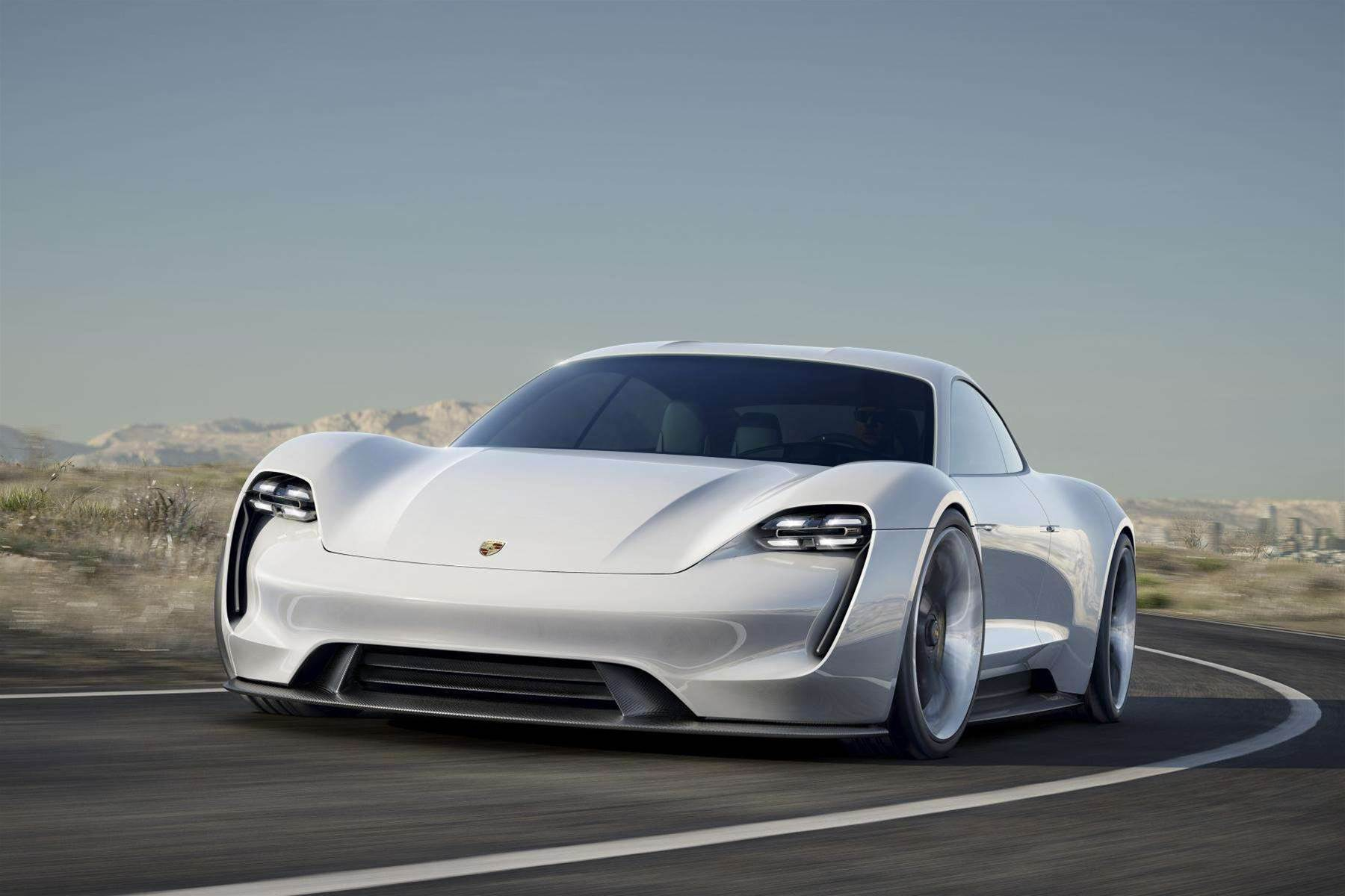 The Porsche Mission E Might Be A Concept Car, But Its 800-Volt EV Technology Is Real