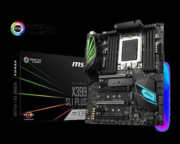 MSI announces Threadripper X399 SLI Plus motherboard