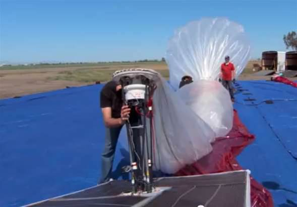 Google pilots 'balloon internet' above New Zealand