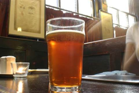Wi-Fi and a beer, as Telstra beams into pubs
