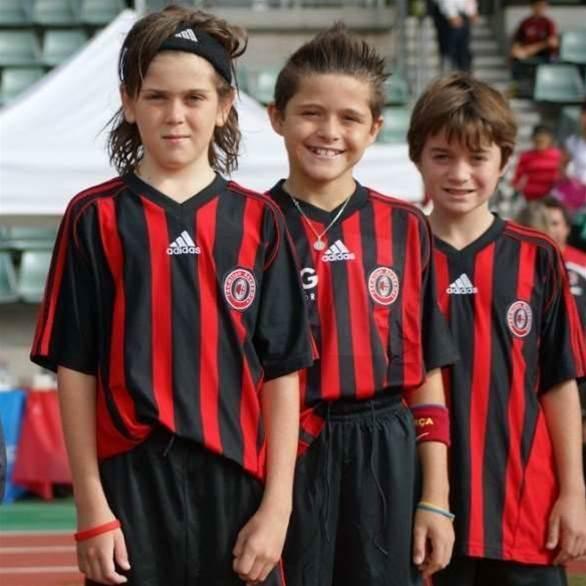Aussie Tween's AC Milan Trial