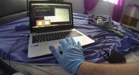 Qld man charged with hacking offences