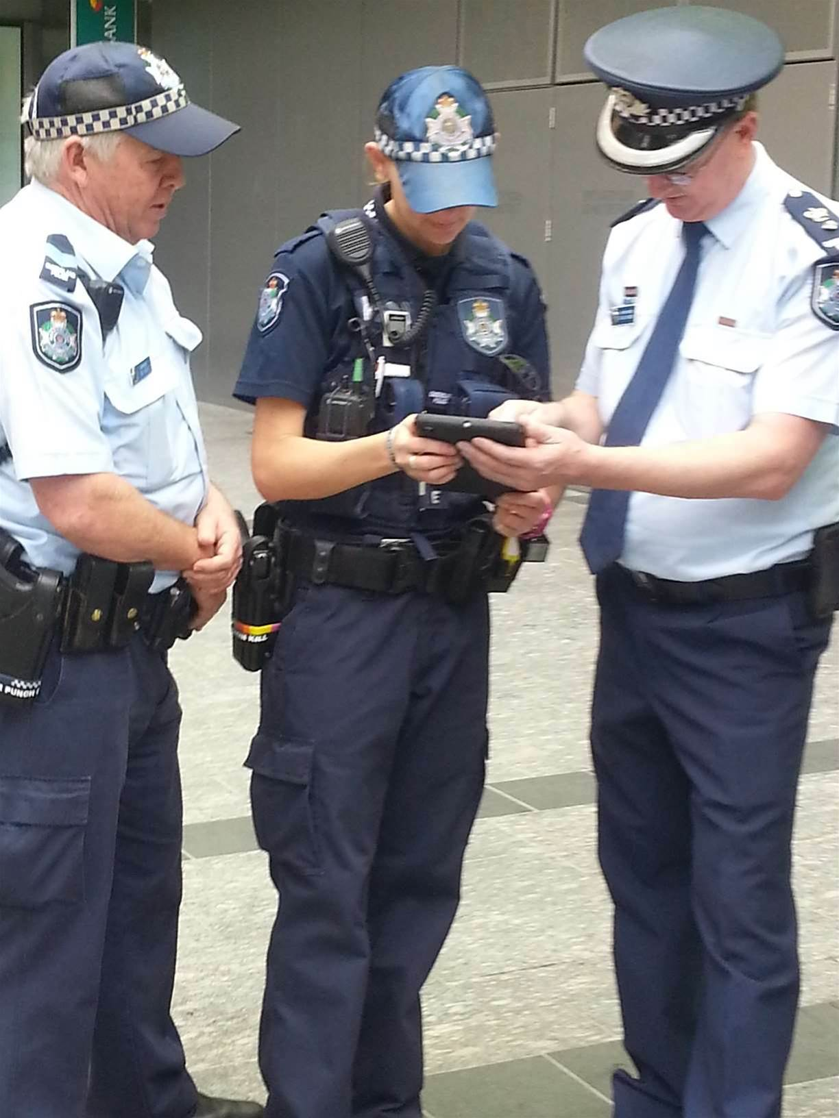 Qld Police brings data to the field