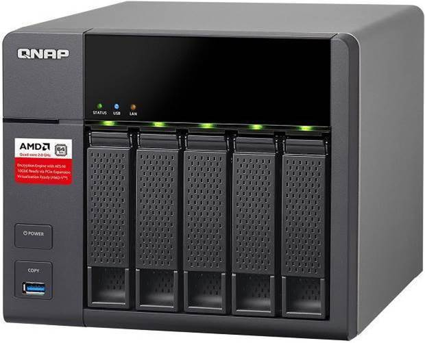 Qnap TS-563 review: an upgradeable, five-bay NAS