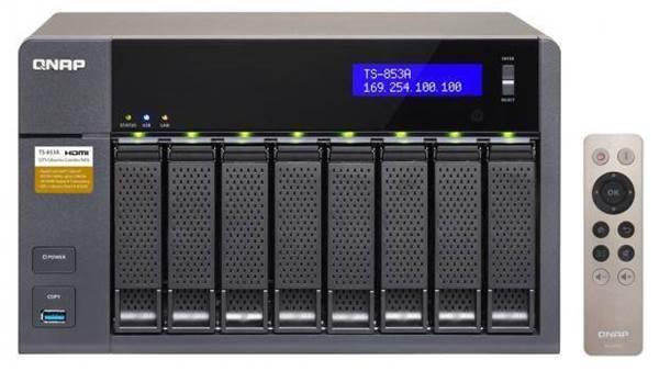 Qnap TS-853A review: a versatile 8-bay NAS