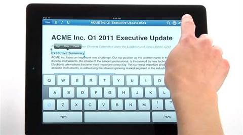 Handy apps: Free version of QuickOffice for iPad now available