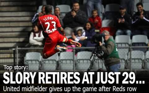 Slory Quits Reds To Retire At Just 29