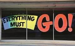 Rabid reseller: Everything must go!