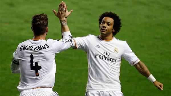 Real Madrid scrape past Levante