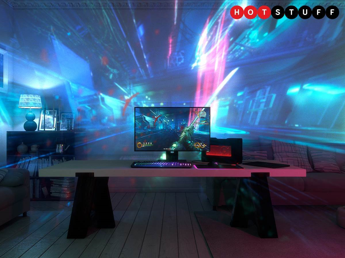 Razer wants to expand your game consciousness with its trippy Project Ariana projector