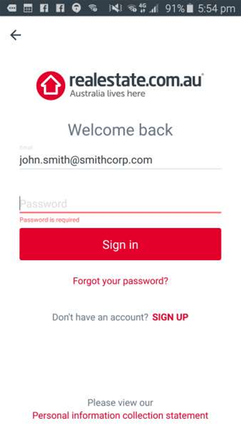REA Group fixes login flaw in Android app