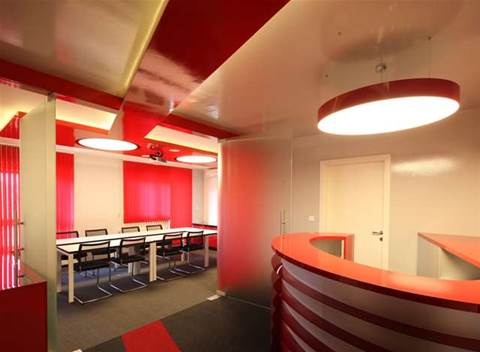 Red, blue…purple? There are ordinary offices, then there are these
