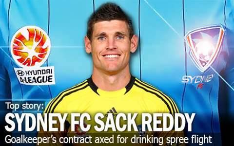 Sydney FC Sack Keeper Liam Reddy