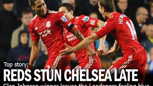 Reds Stun Chelsea Late