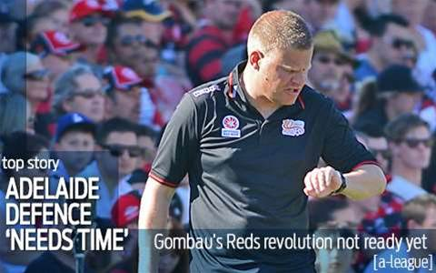 Gombau: Reds defence needs more time